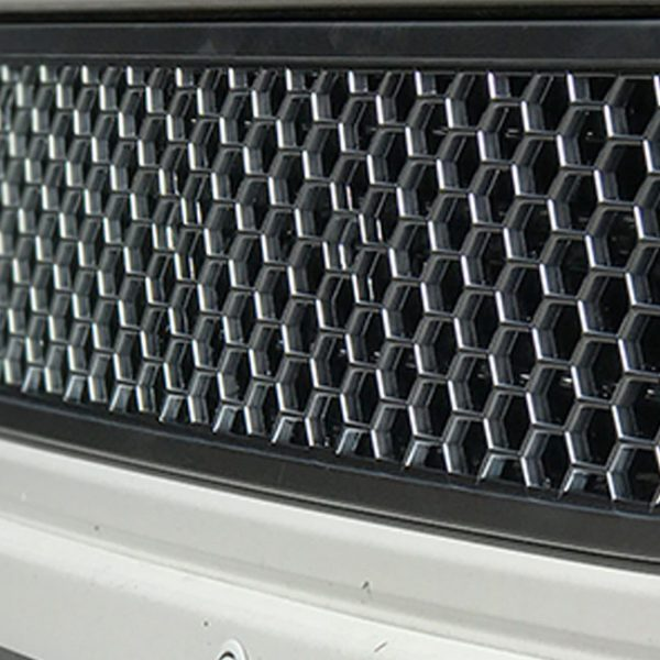 HONEYCOMB BUMPER MESH FOR VW T5.1 (MATTE CHROME)-8976