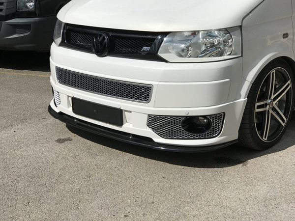HONEYCOMB BUMPER MESH FOR VW T5.1 (MATTE CHROME)-8964