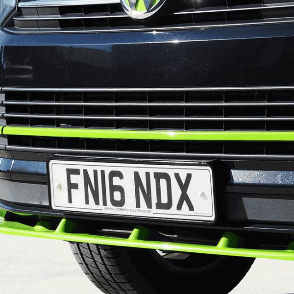 FRONT NUMBER PLATE TRIM FOR VW T6 STARTLINE-29696