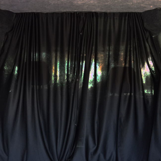 Van-X | Cab Divider Curtain Kit for VW Caddy