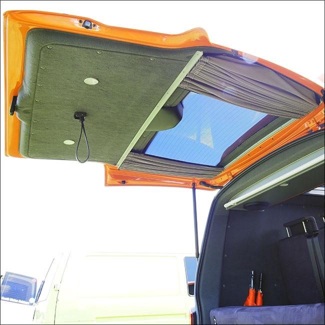 Renault Trafic Premium 1 x Tailgate Window Curtain Van-X