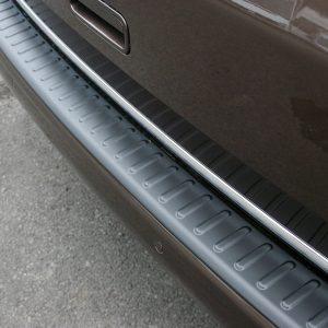 Black Tailgate Rear Bumper Protector for VW T5 Transporter (Present idea)-20375