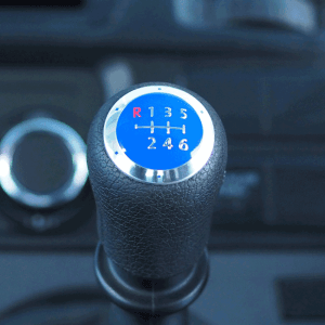 6 Gear Knob Cap / Cover for VW T5 Transporter (The ideal gift!)-20351