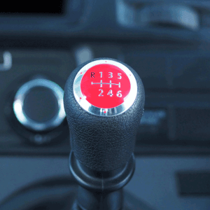 6 Gear Knob Cap / Cover for VW T5 Transporter (The ideal gift!)-20349
