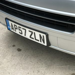 FRONT NUMBER PLATE TRIM FOR VW T5.1 T5GP T5 FACELIFT (Present idea!)-20417