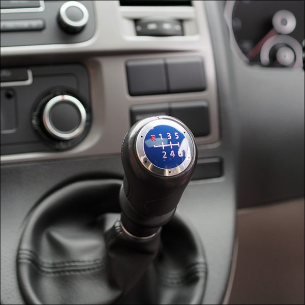 6 Gear Knob Cap / Cover for VW T5 Transporter (The ideal gift!)-20341