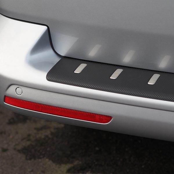 Rear Bumper protector for VW T5 & T5.1, Carbon Fiber Film (Ideal gift) -20398