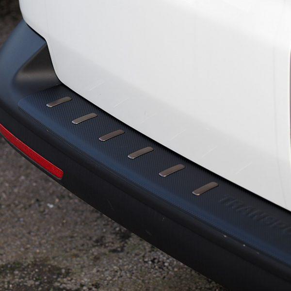 Rear Bumper protector for VW T5 & T5.1, Carbon Fiber Film (Ideal gift) -20397