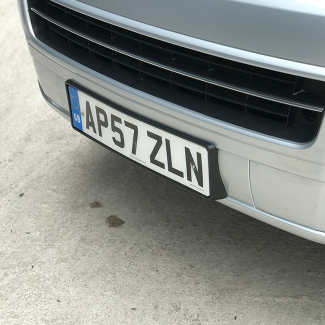 FRONT NUMBER PLATE TRIM FOR VW T5.1 T5GP T5 FACELIFT (Present idea!)-0