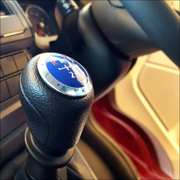 6 Gear Knob Cap / Cover for VW T5 Transporter (The ideal gift!)-20333