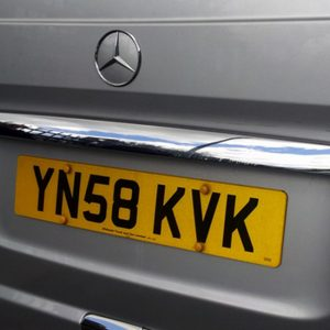 Tailgate Number Plate Trim for Mercedes Vito (Ideal gift)-20535