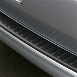 Black Tailgate Rear Bumper Protector for VW T5 Transporter (Present idea)-20374