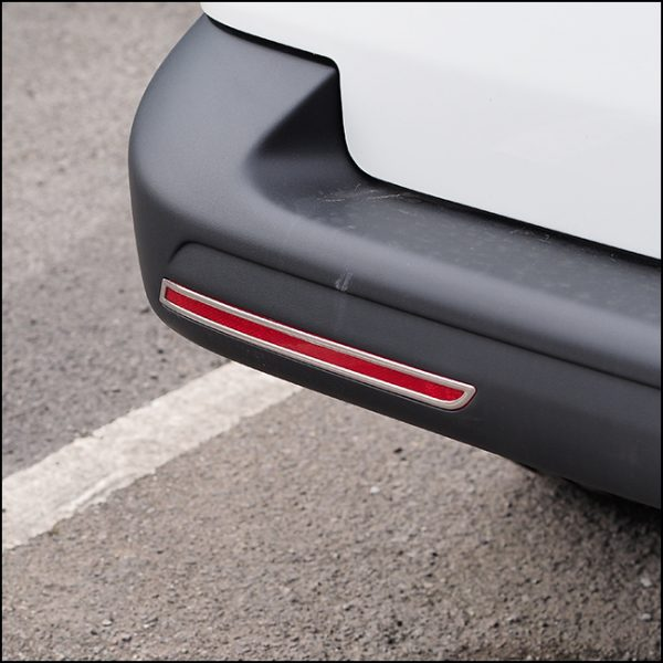 Barndoor Rear Bumper Reflector Trims For VW T6 Transporter (Gift idea)-20363