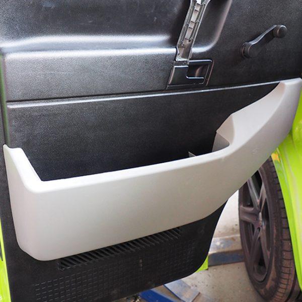 Passenger Side Pocket For VW T4 ABS Grey-20611