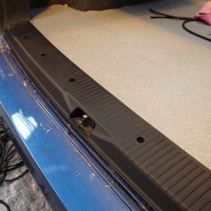 Rear Threshold For VW T6 Tailgate ABS Plastic Full length-0