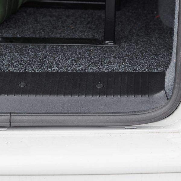 Rear Threshold For VW T6 Barndoor / Twin Door ABS Plastic Full length-20602