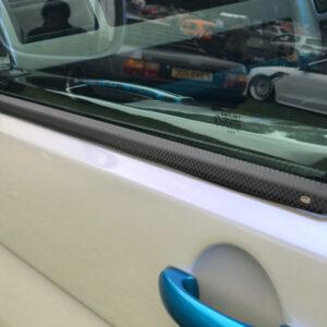 Window Sill Trims for VW T5 Transporter Range Carbon Fiber Film-0