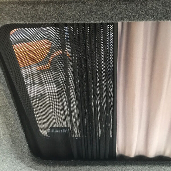 Side Curtains With Mesh for VW T4, T5, T6-0