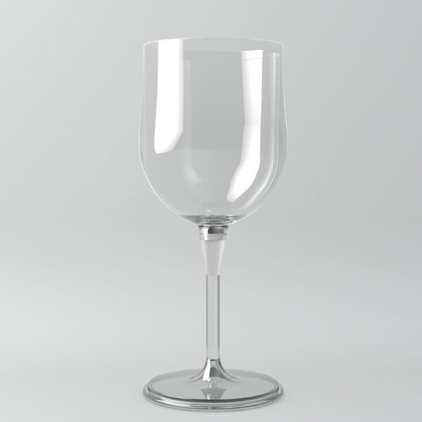Portable Travel Wine Glass BPA Free Plastic-0