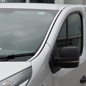 Windscreen Pillar Trim For Renault Trafic Stainless Steel-0