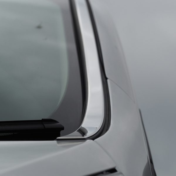 Windscreen Pillar Trim For Renault Trafic Stainless Steel-20710