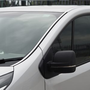Windscreen Pillar Trim For Renault Trafic Stainless Steel-20709