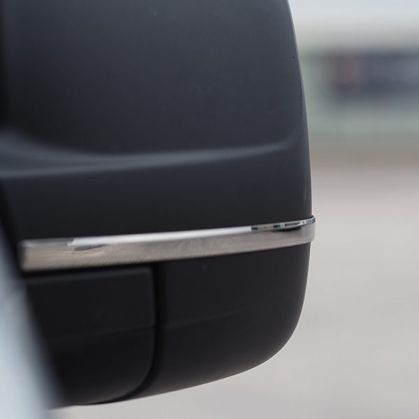 Wing Mirror Trims for Renault Trafic Stainless Steel-20701