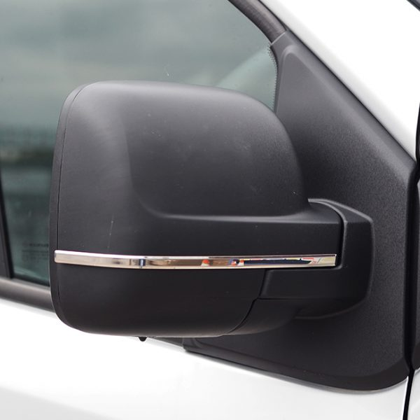 Wing Mirror Trims for Renault Trafic Stainless Steel-20705