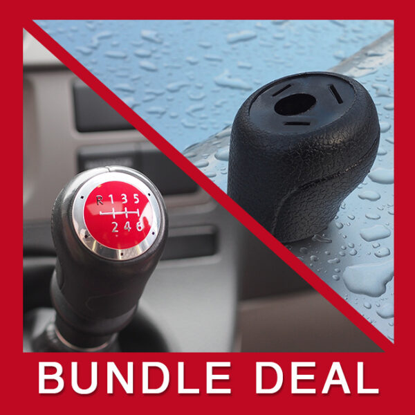 VW T5 & T6 Gear Knob and Cap Bundle-0