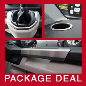 VW T6 Interior Package, Stainless Steel Set-0
