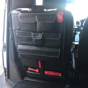 Double Back Seat Organiser for VW T5 / T5.1 / T6 Transporter-20864