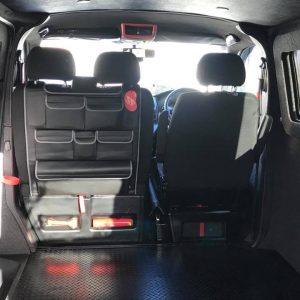 Double Back Seat Organiser for VW T5 / T5.1 / T6 Transporter-20867