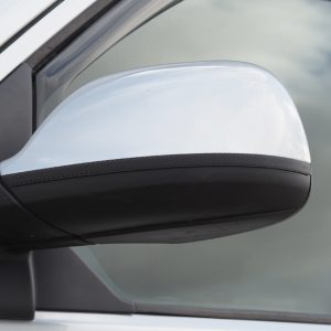 Stainless & Carbon Film Wing Mirror Trims For VW T5.1 / T6-20871