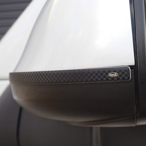 Stainless & Carbon Film Wing Mirror Trims For VW T5.1 / T6-20872