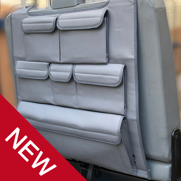 Double Back Seat Organiser for VW T5 / T5.1 / T6 Transporter-0