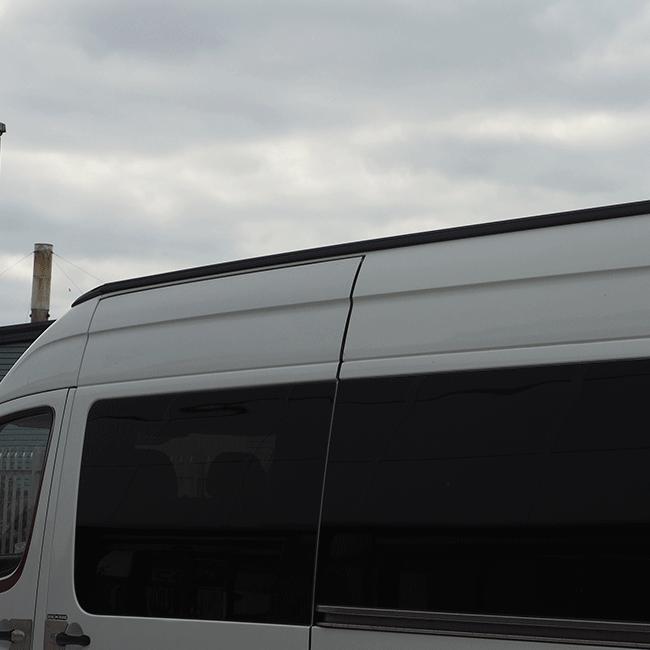 Van-X | Awning Rails Mercedes Sprinter California style