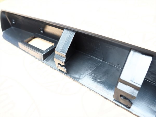 Number Plate Trim For Vauxhall Vivaro-20948