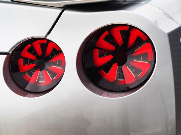 Nissan GTR R35 Smoked Dynamic Rear Led Lights-21009
