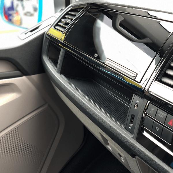 VW T6 Lower Dash Mats-0