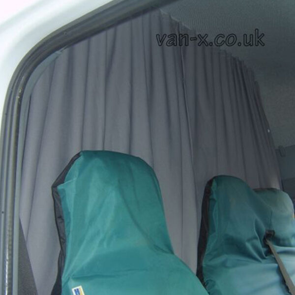 Maxi-Cab Divider Curtain Kit for VW Crafter-0