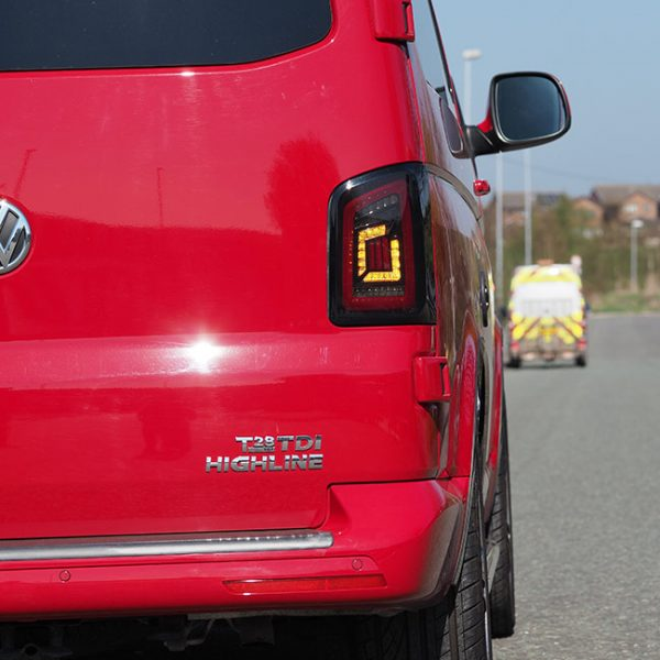 LED Rear Lights for VW T5 & T5.1 Transporter TAILGATE MK4 NEW STYLE-33274