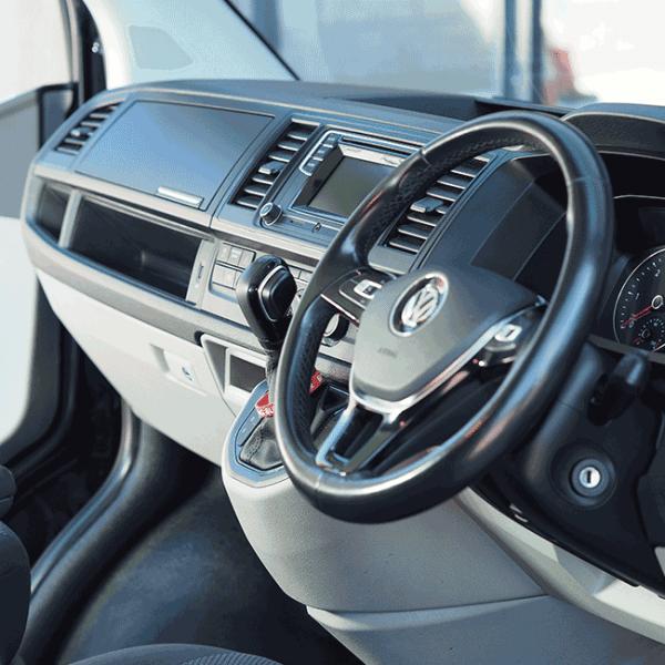 VW T6 Glove box Matte Black-29703