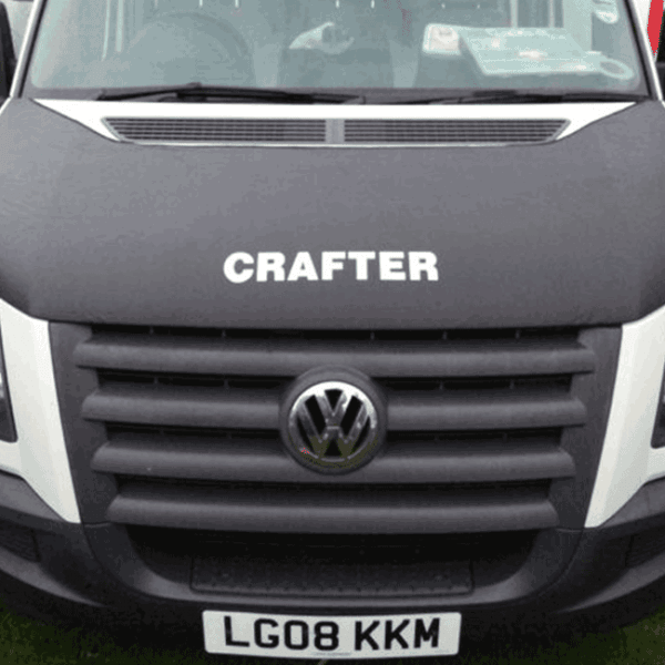 VW CRAFTER BONNET BRA CRAFTER LOGO-0