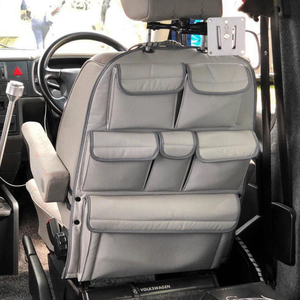 van x vw t4 transporter back seat organiser storage. Black Bedroom Furniture Sets. Home Design Ideas