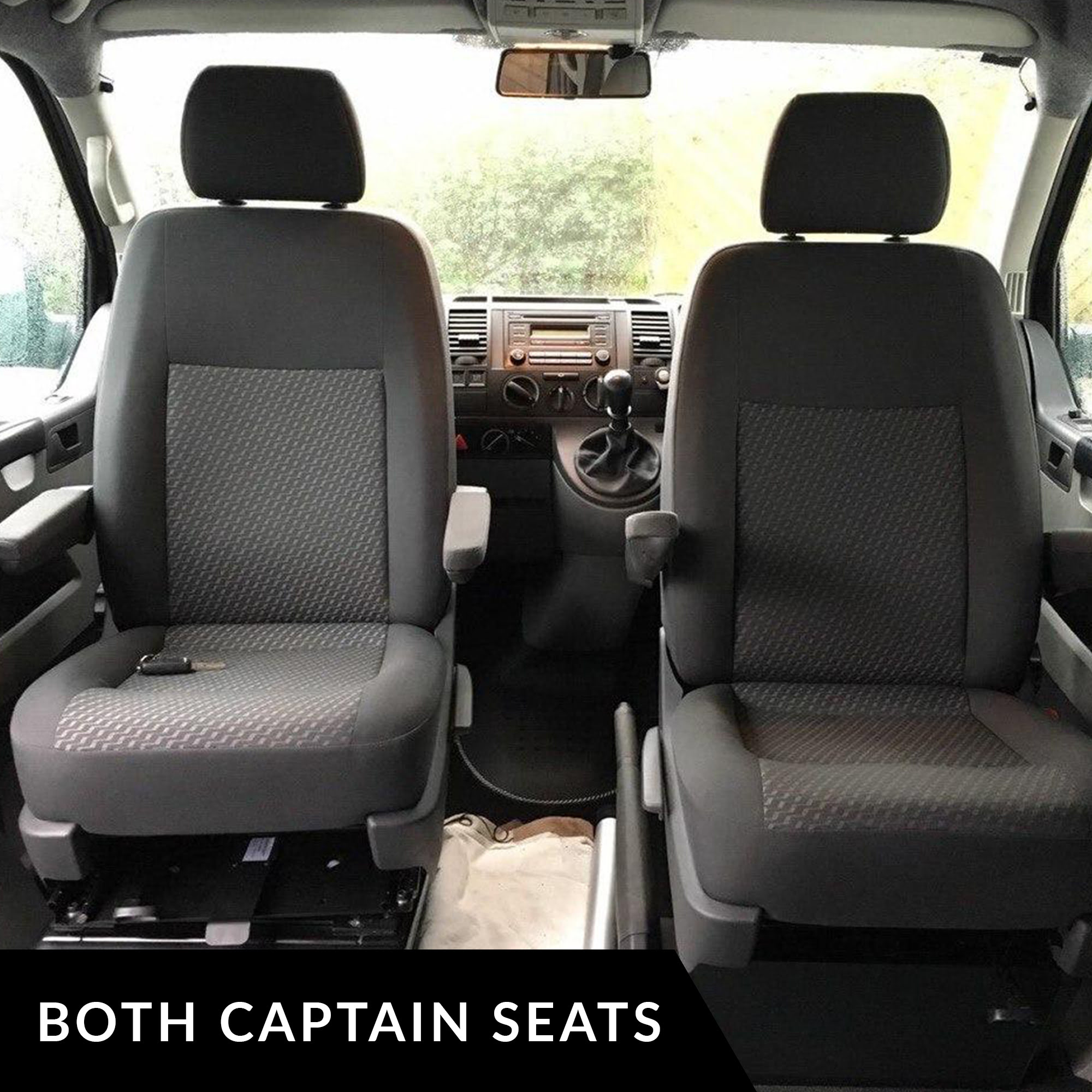 vw transporter t5 single passenger seat