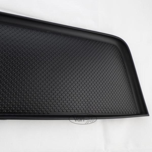 VAN-X VW T5, T5.1 Door Pocket Inserts, Rubber, Door Liner (Black) Double Passenger + Driver Interior Styling 1 - T5-399-B