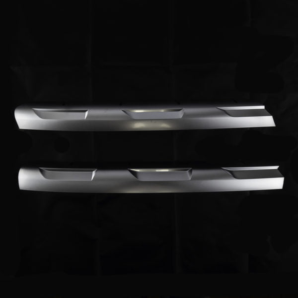 VAN-X VW Transporter T6 R-Line Front Grille Trims - Matte Chrome 2 - T6-533-MC