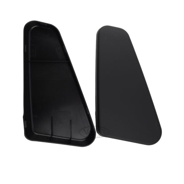 VAN-X VW T5, T5.1, T6 Twin Seat Hinge Caps - Matte Black Interior Styling 2 - T56-147MB