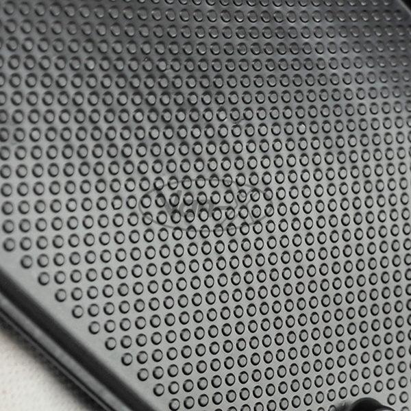 VAN-X VW T5, T5.1 Door Pocket Inserts, Rubber, Door Liner (Black) Double Passenger + Driver Interior Styling 3 - T5-399-B