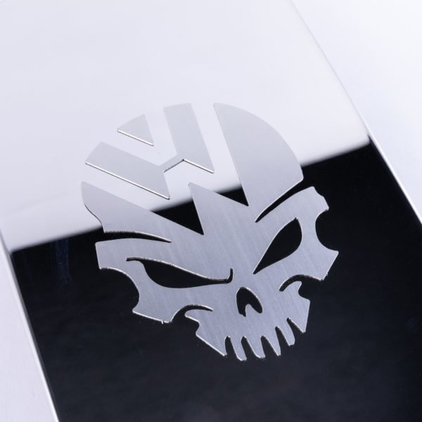 VAN-X VW T6 Transporter Skull Fuel Cap Flap Cover 3 - T6-274